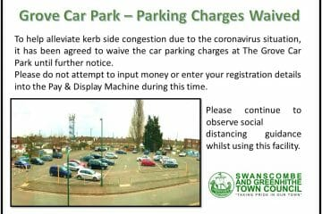Car Park Suspension during coronavirus