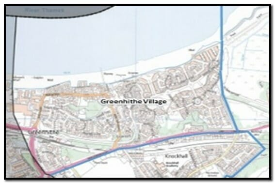 Greenhithe Village Ward Map