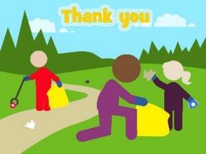Litter pickers picking litter (002)