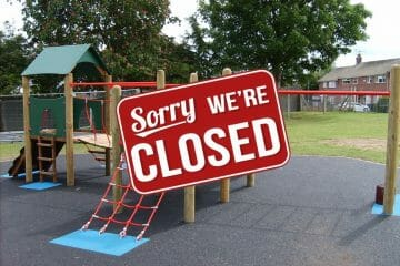 Play Areas closed due to Coronavirus