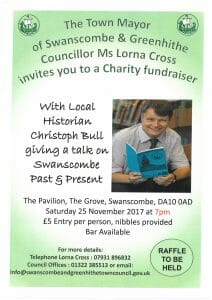 Town Mayor's Charity Fundraiser - A Talk on Swanscombe Past & Present @ The Pavilion | England | United Kingdom