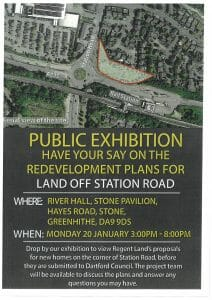 Public Exhibition - Redevelopment plans for Land off Station Road, Greenhithe @ River Hall, Stone Pavilion