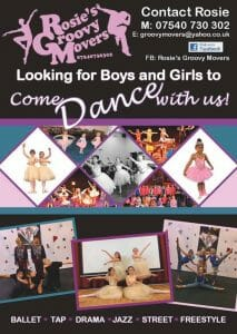 Rosie's Groovy Movers - Children's Dance Groups @ S & G Town Council Offices Community Hall