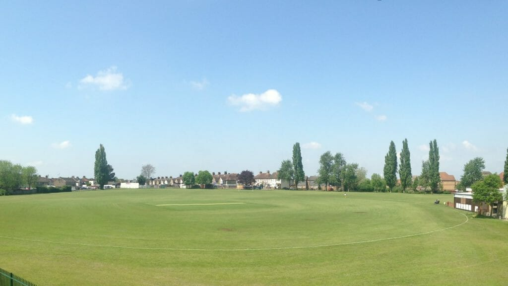 Cricket Square at Broomfield Park