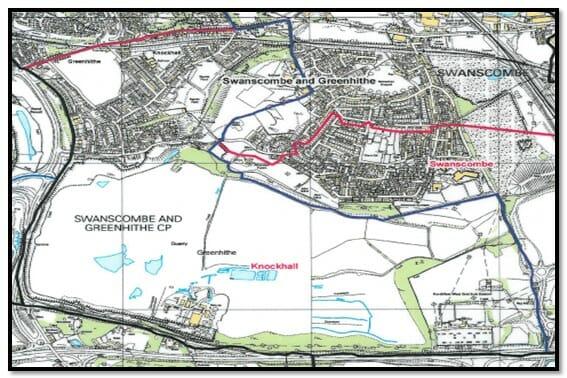 Knockhall Ward Map