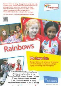 Swanscombe Rainbows & Brownies @ Church Road Hall | Swanscombe | United Kingdom