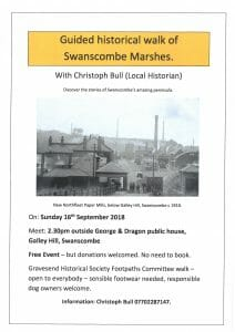 Guided historical circular tour of Swanscombe Marshes @ George & Dragon PH | Dartford | England | United Kingdom