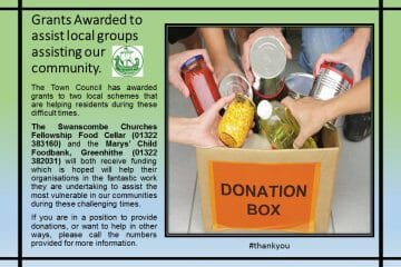 Grants to two food banks