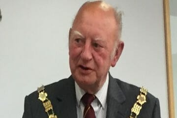 Former Town Mayor Cllr Bryan Read