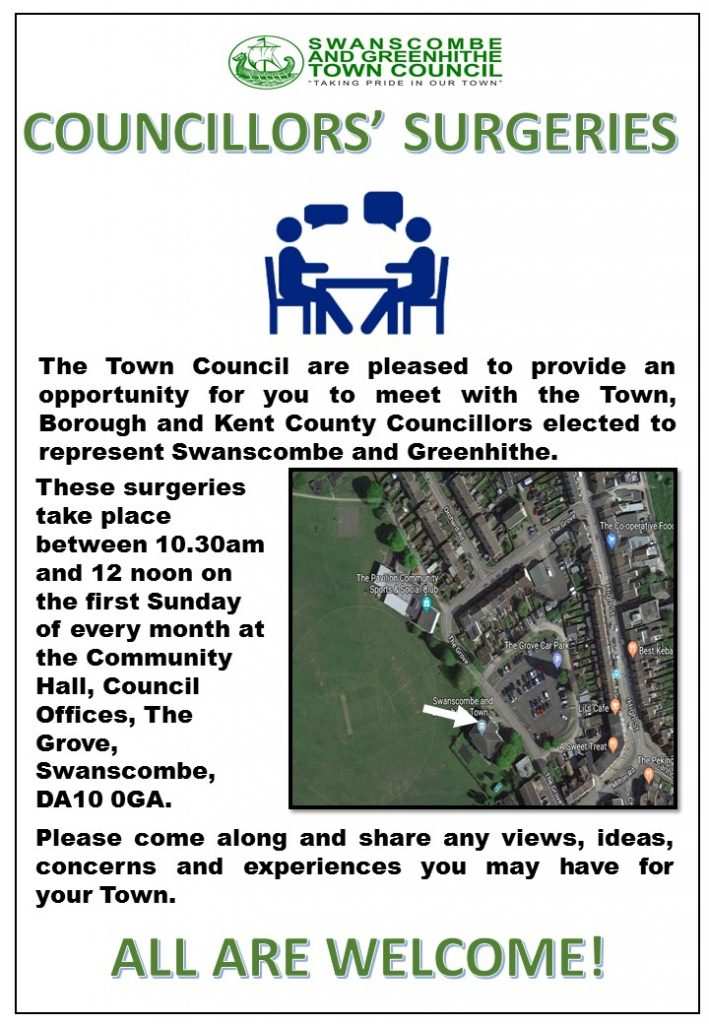Councillors Surgeries Poster