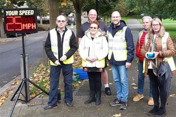 Greenhithe Speedwatch Sceme members - October 2019
