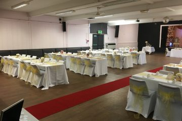 Hall set out for wedding at The Pavilion