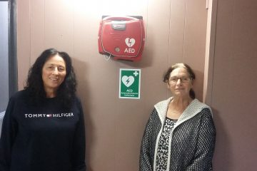 Defibrilator in The Pavilion