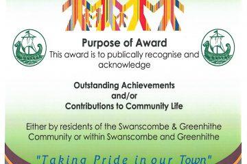 Recgnition Award Poser
