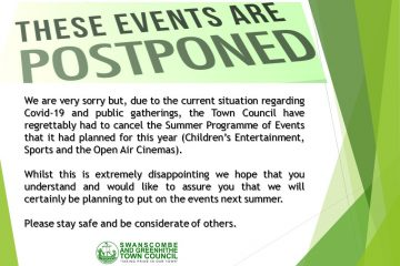 Summer Entertanment Programme Postponed for 2020.