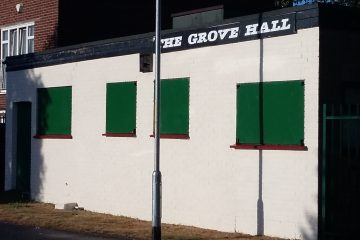 Grove Hall external painted