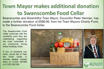 Further donation by Town Mayor