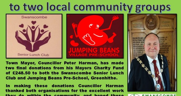 Town Mayors charity donations.