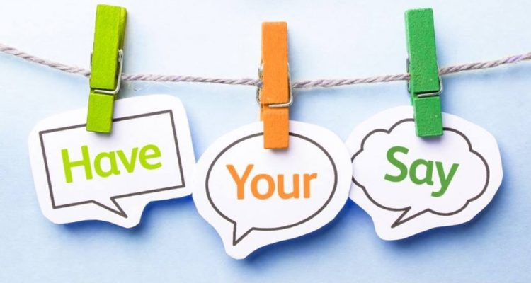 Consultation - have your say