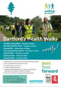 Free Weekly Health Walk @ Greenhithe