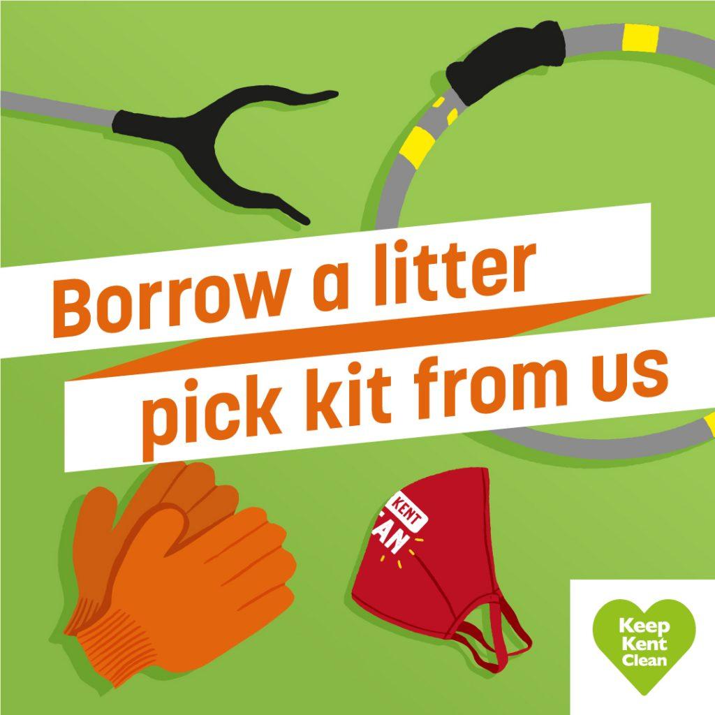 Litter - borrow a litter pick kit from us