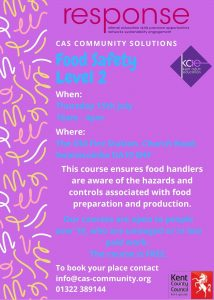 Food Safety - Level 2. @ CAS Community Solutions