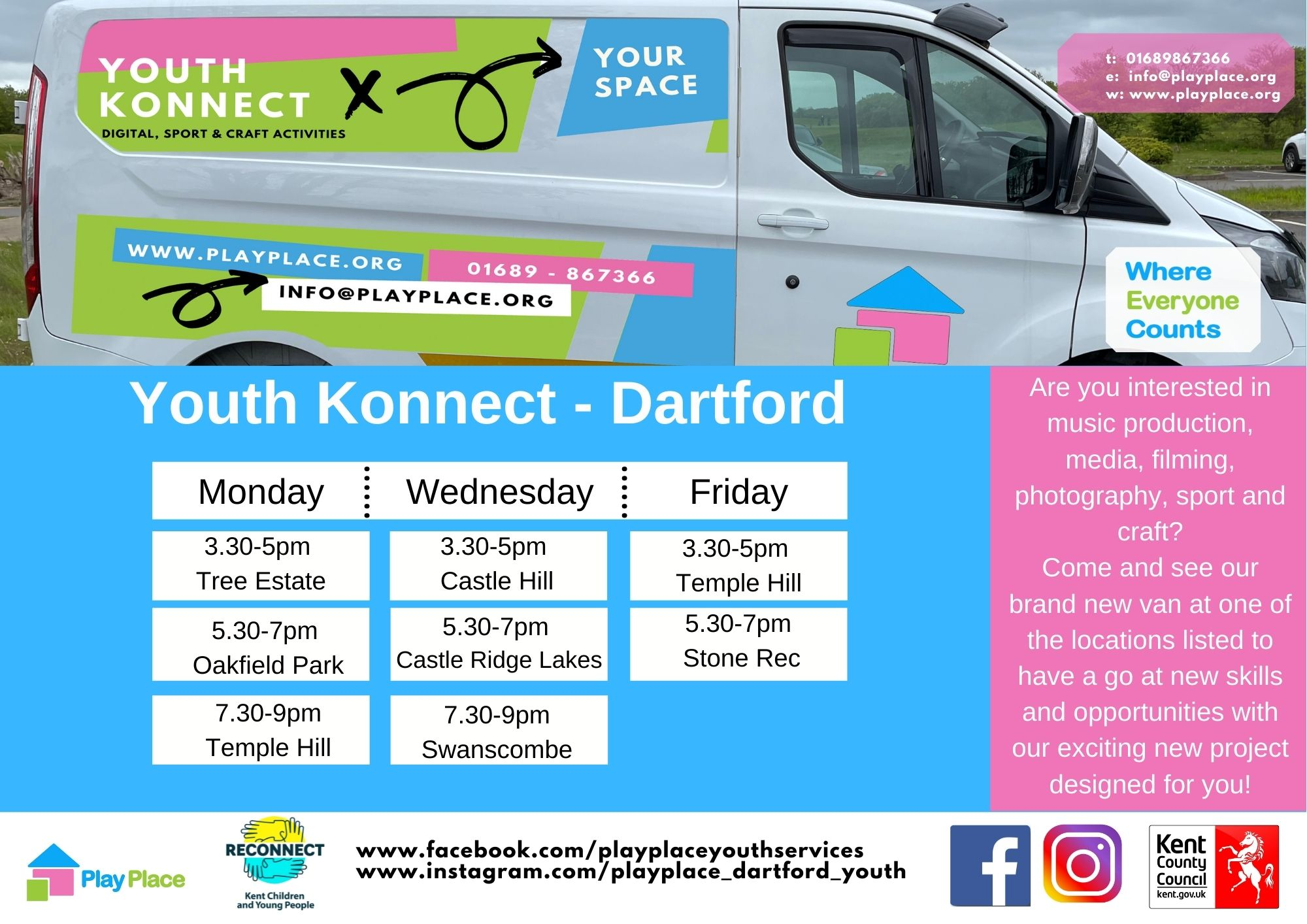 2021 - Youth Konnect - Swanscombe - July