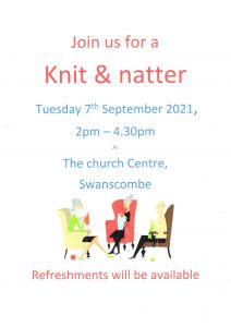Knit and Natter Club @ The Church Centre