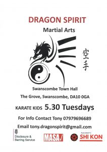 Dragon Spirit Martial Arts - Kids Karate Club. @ Swanscombe & Greenhithe Town Council Offices Community hall | United Kingdom
